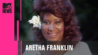 Aretha Franklin on Whitney Houston, George Michael & More | MTV News