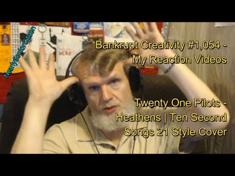 T0P - Heathens | Ten Second Songs 21 Style Cover : Bankrupt Creativity #1,054- My Reaction Videos
