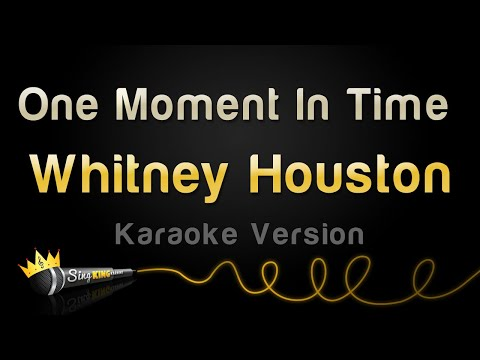 Whitney Houston - One Moment In Time (Karaoke Version)