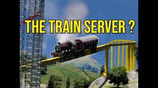 The Train Experiment Server - Space Engineers