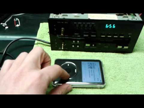 how to aux port in your oe delco stereo picture heavy s 10 forum