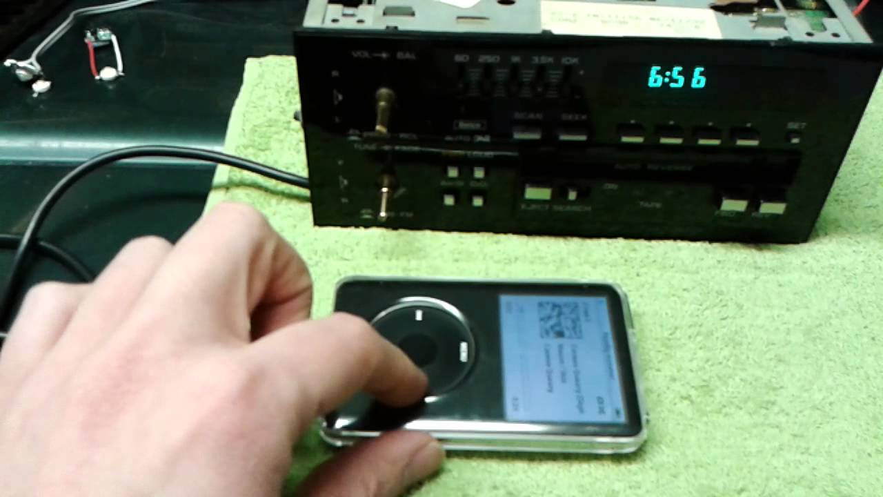 maxresdefault delco radio with aux ipod connection youtube  at gsmx.co
