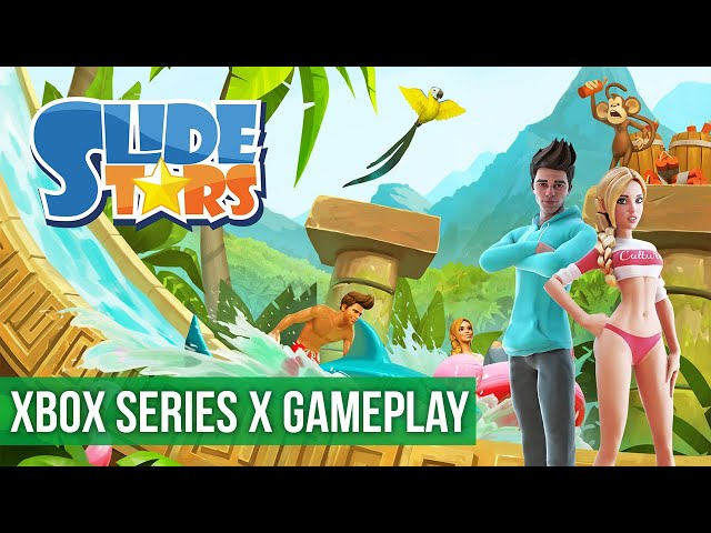 Slide Stars - Gameplay (Xbox Series X) HD 60FPS