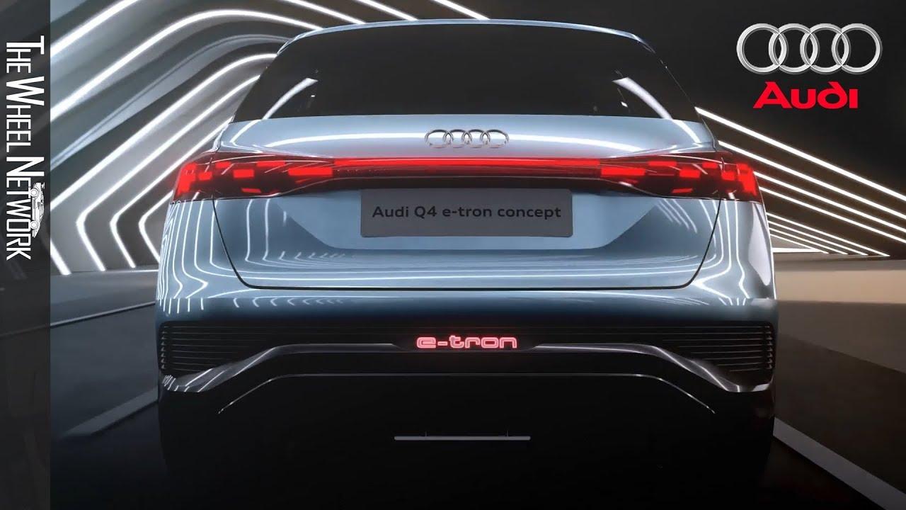 Audi Q4 e-tron Concept - Compact Electric SUV - YouTube