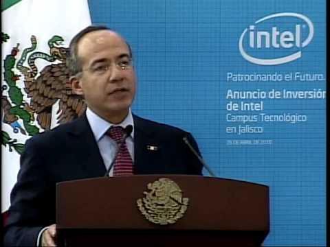 Anuncia Intel inversión en México por 2 mil 300 MDP