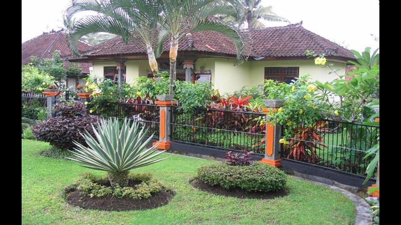 Desain Taman Rumah Jawa Destaman