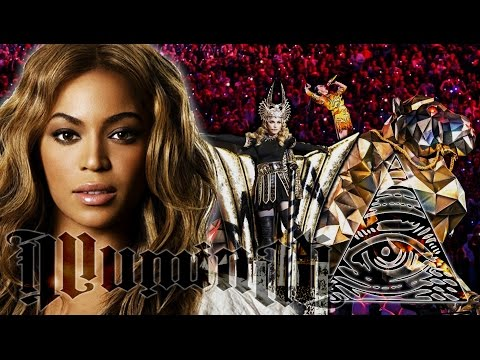 2016 ILLUMINATI Superbowl Halftime Show - Beyonce, Katy Perry, Madonna & Coldplay