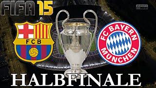 FIFA 15 - FC Bayern München gegen FC Barcelona (Champions League HALBFINALE Hinspiel) ◄FCB #51►