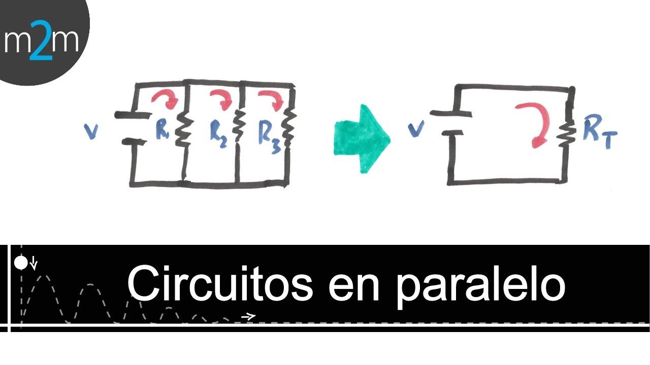 Circuito Not : Como resolver un circuito eléctrico en paralelo youtube