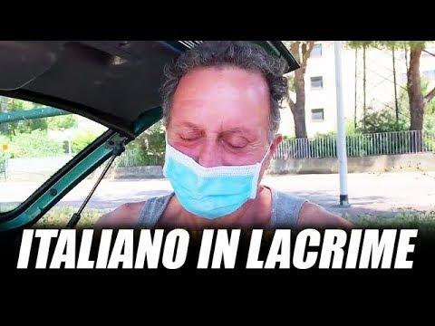 """ITALIANO IN LACRIME: """"SONO DISPERATO, VIVO IN MACCHINA DA 15 GIORNI"""""""