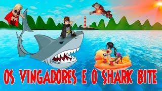 ROBLOX-THE AVENGERS und DIE TRICKS des SHARK BITE-SharkBite