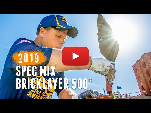2019 SPEC MIX BRICKLAYER 500®
