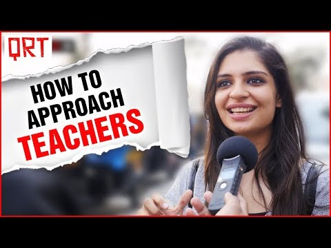 TIPS to IMPRESS Beautiful TEACHERS | GIRLS DATING WHITE Hair BOYS | MUMBAI Social Experiment | QRT