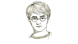 potter harry draw