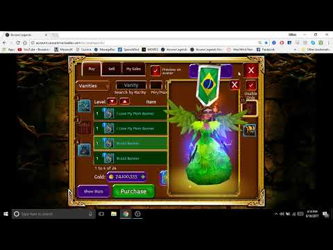 How To Use CS/ Auction In Arcane Legends