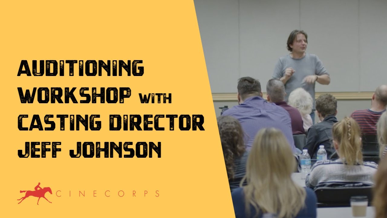 Video of Auditioning for Film & TV Workshop with Casting Director Jeff Johnson