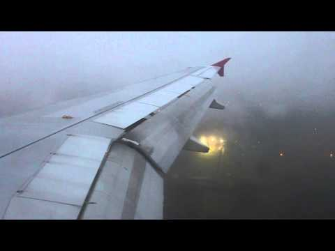 Wizzair | Airbus A320-232 HA-LPE | Budapest - Eindhoven | 4th december 2013 |Full flight