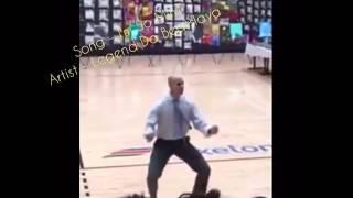 Principal Dances at School Rally & KILLS IT! To Beatslaya Song - (I'm So MinT)