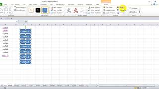 Microsoft Excel ile VBA kullanarak sayfa aktifleştirme. Köprü Ekleme