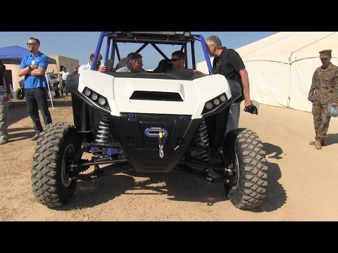 This off-road vehicle could deliver special ops to combat without making a sound