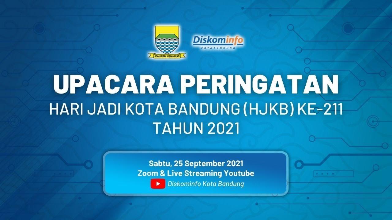 DOWNLOAD: Upacara Peringatan Hari Jadi Kota Bandung (HJKB) Ke-211 Tahun 2021 Mp4 song