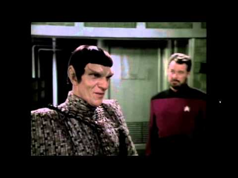 Andreas Katsulas Babylon 5's G'kar as a Romulan on Star Trek TNG