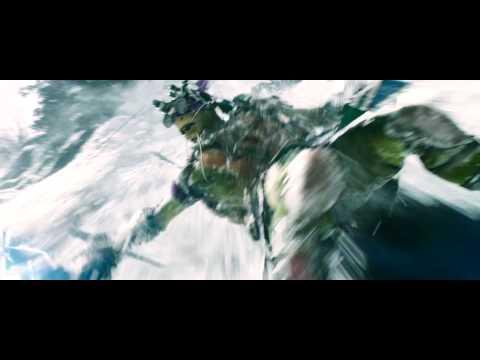 Teenage Mutant Ninja Turtles Snow Mountain Chase Scene HD streaming vf