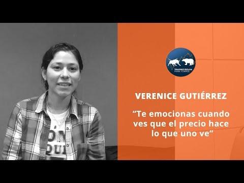 """VERENICE - """"TE EMOCIONAS CUANDO VES QUE EL PRECIO HACE LO QUE UNO VE"""""""