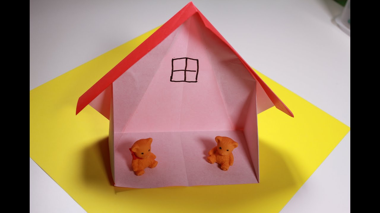 How To Origami Doll House