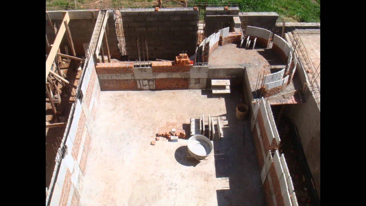 Viga facil constru o de piscinas youtube for Piscinas semienterradas