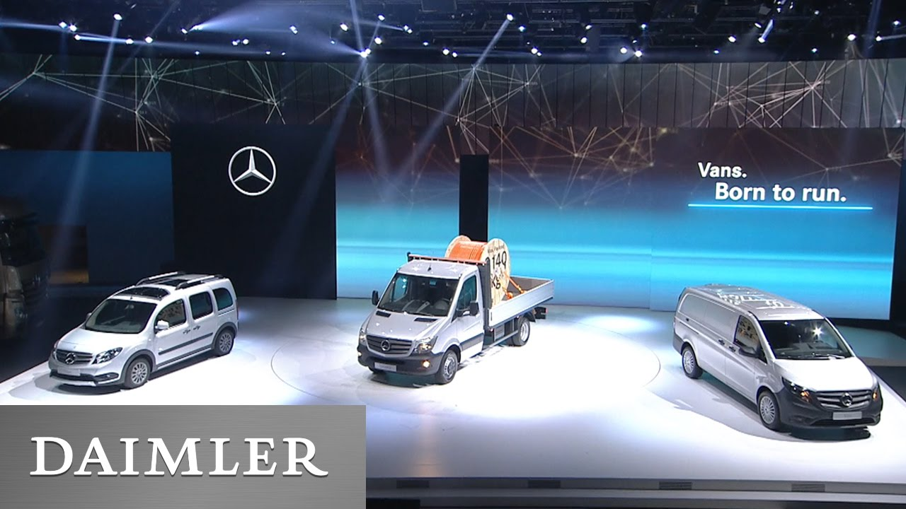 Ahead of Time – report about Daimler on #IAA2016. - YouTube