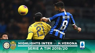 INTER 2-1 HELLAS VERONA | HIGHLIGHTS | Vecino and a stunner from Barella! ⚫🔵