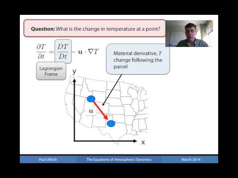 AtmosphericDynamics Chapter01 Part02 The Material Derivative