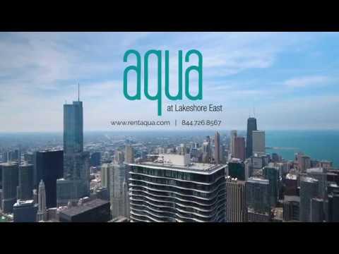 Aqua At Lakeshore East Apartment Tour: Living in Chicago, Il