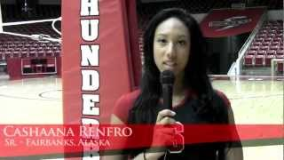 2012 SUU Volleyball Profiles - Cashaana Renfro