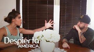 Mela la Melaza le hizo una visita sorpresa a Nacho Mendoza en su casa