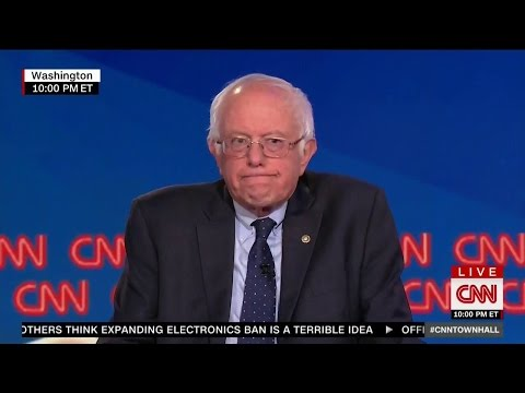 Bernie Sanders Rips CNN Host To Her Face
