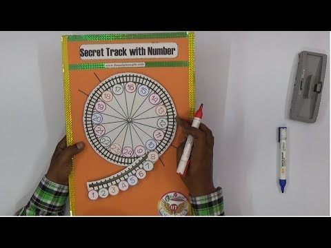 Secret Track With Numbers    Maths Project   