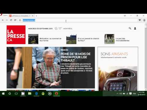 Windows 10 Quick look and tour of the Opera Browser