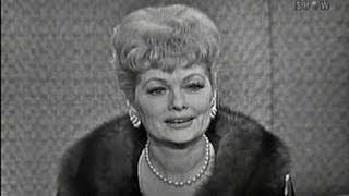 What's My Line? - Lucille Ball; Faye Emerson [panel]; Shelley Berman [panel] (Jan 1, 1961)