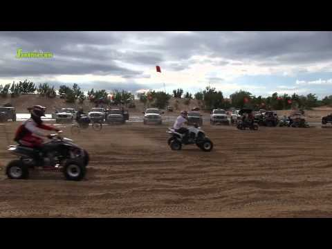 Competition on the flats at silver lake Sand Dunes