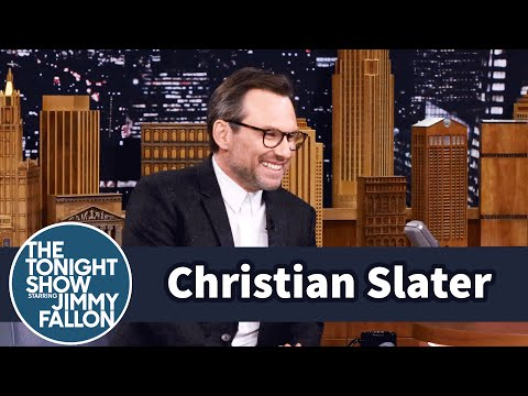Christian Slater Brings The Tonight Show an Exclusive Mr. Robot Sneak