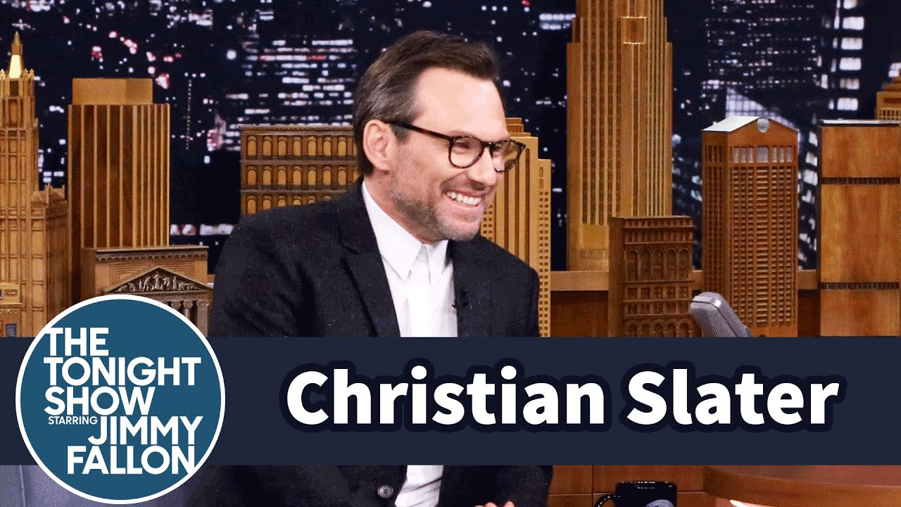 Christian slater brings the tonight show an exclusive mr robot christian slater brings the tonight show an exclusive mr robot sneak kristyandbryce Gallery