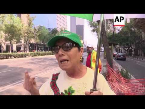 Mexico protest over rising gasoline prices