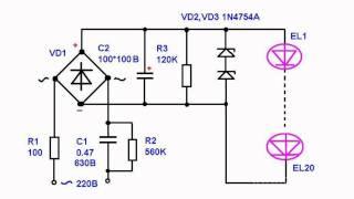 видео Стабилизатор тока для светодиодов: виды, схемы, как сделать