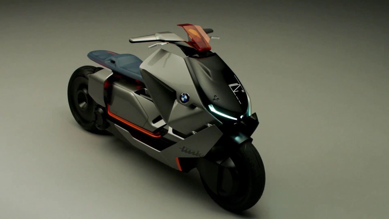 prototype bmw concept link le scooter lectrique du futur youtube. Black Bedroom Furniture Sets. Home Design Ideas