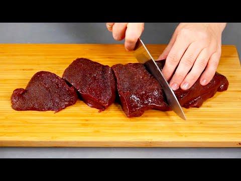 Рецепт из говяжьей печени в домашних условиях