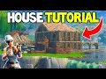 Fortnite: How To BUILD Any HOUSE DESIGN! (Pro House Building Tutorial Fortnite Playground LTM)