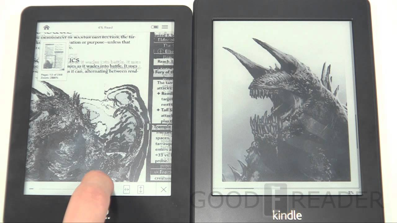 Amazon Kindle Paperwhite Vs The Kobo Glo Youtube