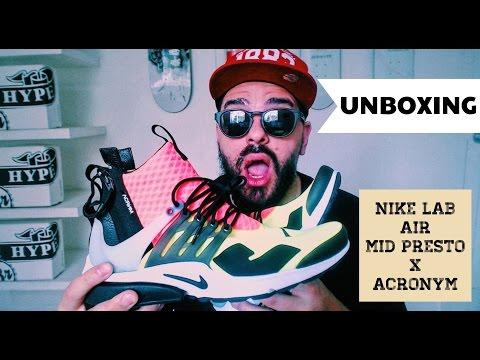 UNBOXING: NIKE LAB Air Mid Presto x ACRONYM